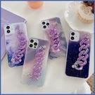 蘋果 iPhone XS XR XS MAX iX i8+ i7+ 紫色系列 手機殼 全包邊 軟殼 手帶 保護殼
