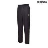 K-Swiss Emboss Shorts運動長褲-男-黑
