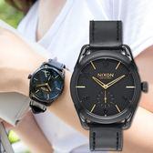 【人文行旅】NIXON | A459-010 THE C39 LEATHER 時尚品味潮流腕錶