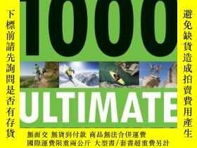 二手書博民逛書店1000罕見Ultimate Adventures 1 (Lonely Planet Travel Referen