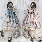 蘿莉裝原創正版兔與愛麗絲op洛麗塔lolita日常茶會款洋裝少女軟妹洋裝 NMS蘿莉小腳丫