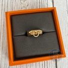 BRAND楓月 HERMES 愛馬仕 K18 CDC戒指 6G #52 玫瑰金 吊環 尾戒 配件 配飾 飾品 飾物 小物