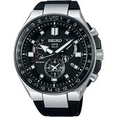 SEIKO精工 ASTRON 8X53 雙時區鈦GPS衛星定位手錶 8X53-0BB0D(SSE169J1)
