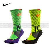 (特價) Nike 長襪 SX4972-366螢光綠SX4972-788螢光黃 KD HYPER ELITE CREW