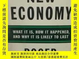 二手書博民逛書店The罕見New Economy:What It Is, How