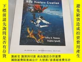 二手書博民逛書店New罕見Venture Creation ENTREPRENE