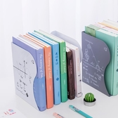伸縮書立架書夾 學生用簡易收納放書架 創意高中生桌上折疊書擋鐵