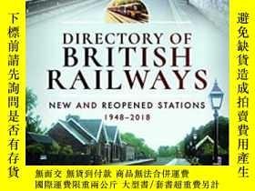 二手書博民逛書店Directory罕見of British Railways – New and Reopened Station