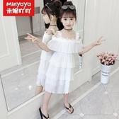 女童雪紡裙 夏裝2020新款韓版兒童超洋氣雪紡公主裙小女孩蛋糕裙子