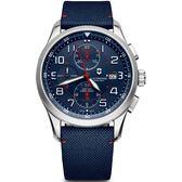 VICTORINOX SWISS ARMY瑞士維氏Airboss機械計時腕錶  VISA-241795