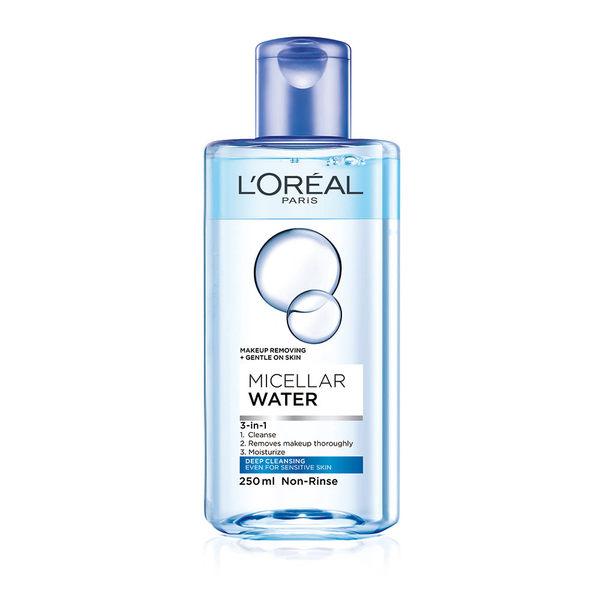 LOREAL Paris 巴黎萊雅 三合一卸妝潔顏水 深層極淨型 250ml (卸妝/卸妝水/敏感肌/卸粧)
