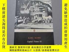 二手書博民逛書店英文原版:Capital:Volume罕見III 資本論(第三卷