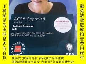 二手書博民逛書店ACCA罕見Audit and Assurance (AA) Study Text (對應F8)(教材)教輔 考試