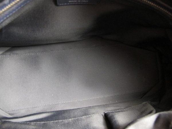 【巴黎站二手名牌專賣店】*現貨*Christian Dior 真品*Granville系列深藍色羊皮肩背/斜背/手提包