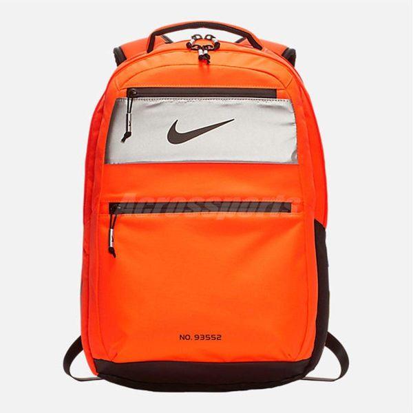Nike 後背包 PG 3 x NASA Backpack 橘 黑 包包 美國太空總署 聯名款【PUMP306】 BA6386-803