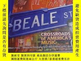 二手書博民逛書店Beale罕見Street: Crossroads of Ame