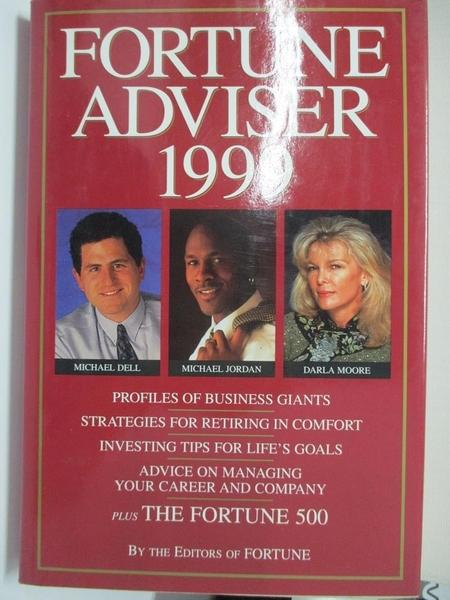 【書寶二手書T3/財經企管_EJV】Fortune Adviser_Fortune