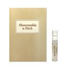 Abercrombie&Fitch 光芒女性淡香精 針管 2ml