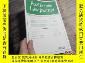 二手書博民逛書店real罕見estate law journal volume