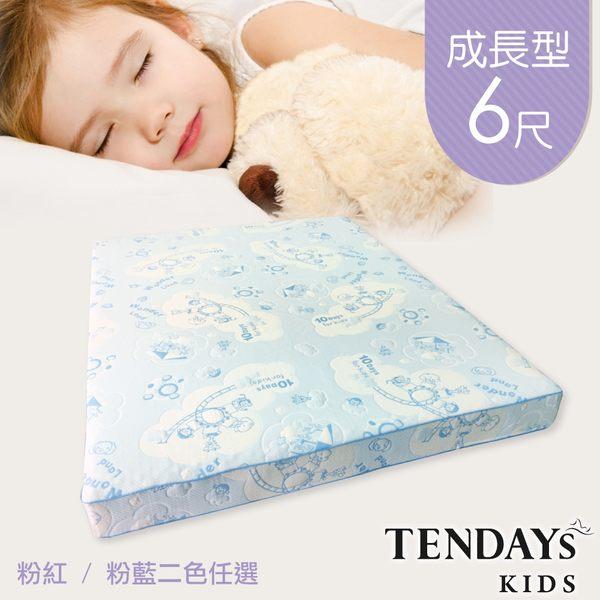 TENDAYs 成長型兒童健康床墊6尺加大雙人(15cm厚記憶床 兩色可選)