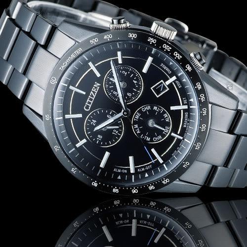 CITIZEN Eco-Drive 星辰 極光時尚大錶面腕錶 BL5495-56L