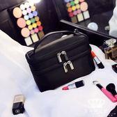 化妝包 便攜女小號韓國簡約手提大容量旅行收納包洗漱包