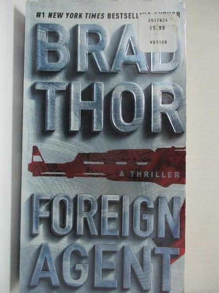 【書寶二手書T9/原文小說_HGB】Foreign Agent_Thor, Brad
