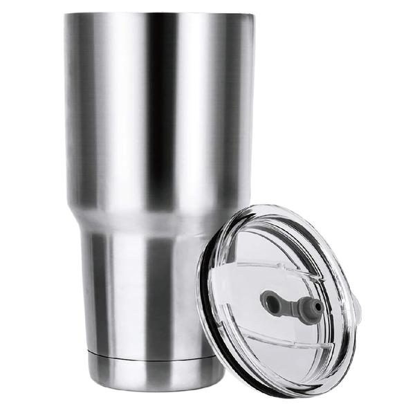 【現貨12H出貨】304不鏽鋼杯 冰霸杯 保溫杯 酷冰杯 雙層汽車杯 啤酒杯子 大容量900ml 保冷杯