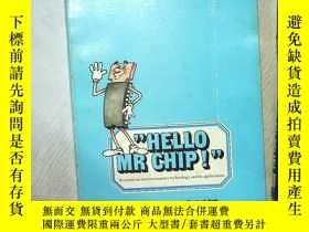 二手書博民逛書店HELLO罕見MR CHIP WORK BOOK 你好,奇普先生工作手冊 大16開 (15)Y261116