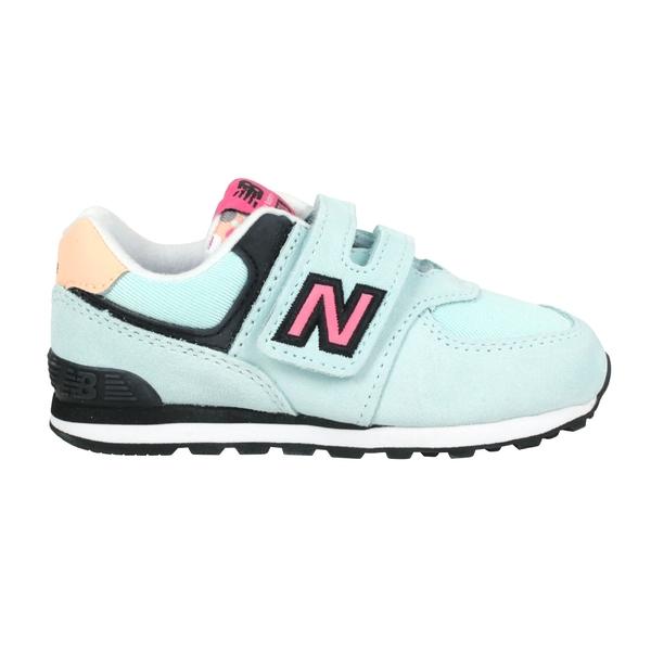 NEW BALANCE 女小童運動鞋-WIDE(免運 麂皮 574系列 N字鞋 NB≡排汗專家≡
