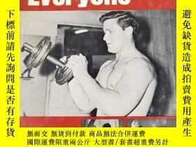 二手書博民逛書店Bodybuilding罕見for Everyone全民健身1965年精裝本Y286158 LOU RAVEL