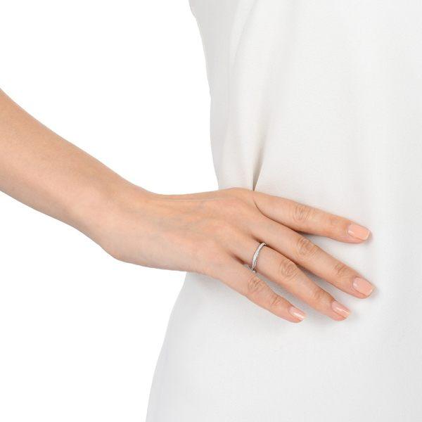 點睛品 Promessa系列 18K金旋轉造型鑽石婚戒(女戒)