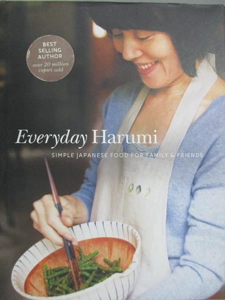 【書寶二手書T4/餐飲_XGV】Everyday Harumi:Simple Japanese Food for Family and Friends