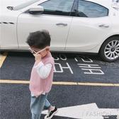 男童馬甲背心兒童針織毛衣寶寶秋韓版坎肩2019新款小孩毛線衣-ifashion