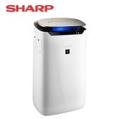 [SHARP 夏普]19坪自動除菌離子空氣清淨機 FP-J80T-W