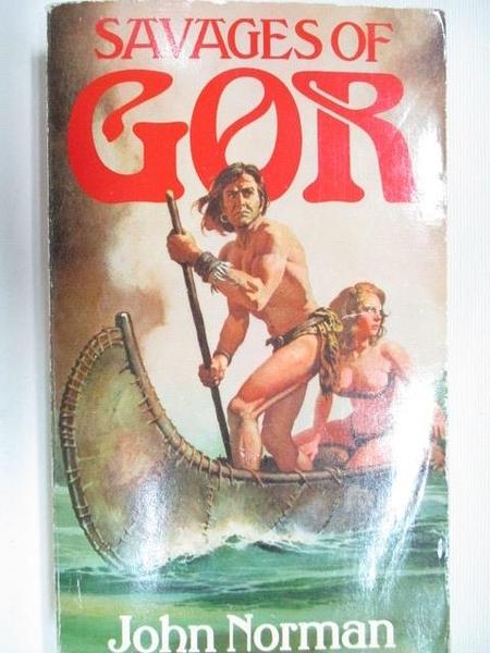 【書寶二手書T6/原文小說_B8A】Savages of Gor_John Norman