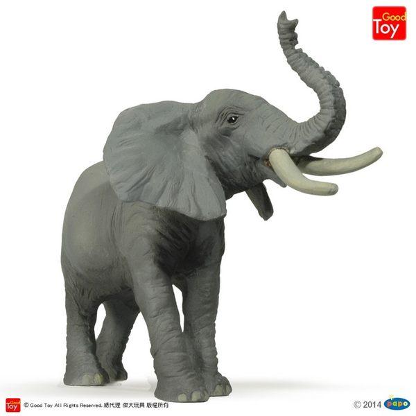 【Good Toy】法國 PAPO 50041 野生動物 吼叫的大象 Trumpeting Elephant