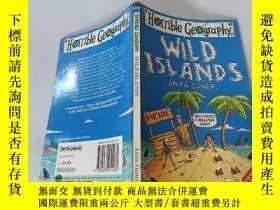 二手書博民逛書店Wild罕見Islands:荒島。Y200392