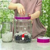 泡酒玻璃瓶密封罐家用葡萄酒10斤20斤自釀藥酒酵素泡菜壇子帶龍頭 igo  至簡元素