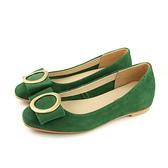 HUMAN PEACE 平底鞋 娃娃鞋 蝴蝶結 綠色 女鞋 H303 no612