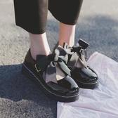 lolita鞋日系洛麗塔lolita厚底女鞋可愛蝴蝶結圓頭娃娃鞋原宿平底軟妹皮鞋 衣間迷你屋