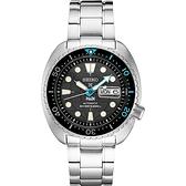 SEIKO 精工 Prospex PADI海龜潛水200M聯名款機械錶(SRPG19K1/4R36-06Z0I)-45mm