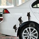 汽車貼紙車身貼個性搞笑創意...