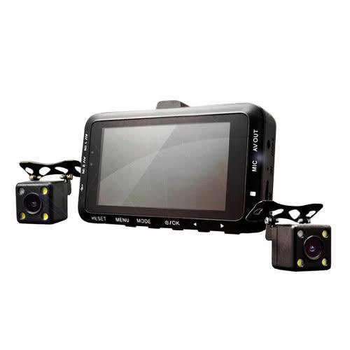 下殺9折↘【勝利者】機車防水雙鏡頭行車紀錄器(升級搭配降壓線)