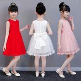 兒童洋裝 女童夏兒童蓬蓬夏裝寶寶紗裙周歲禮服 HH2188【潘小丫女鞋】