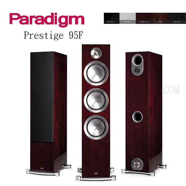 【竹北勝豐群音響】預購 Paradigm Prestige 95F 落地喇叭 PB / M-CH / GW