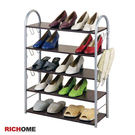 【RICHOME】 SC098《巴特五層鞋架鞋櫃》/置物櫃/穿鞋椅/收納櫃/多層架