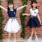 2018新款女童連身裙8大童6超洋氣公主裙子十歲12小學生夏裝韓版15 至簡元素