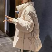 棉服 羽絨棉衣棉服女冬裝棉襖2021年新款韓版寬鬆短款面包冬季外套爆款【快速出貨八折下殺】