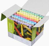 粉筆 MUNGYO盟友彩色粉筆無毒無塵粉筆100支裝兒童黑板公考教師課 走心小賣場